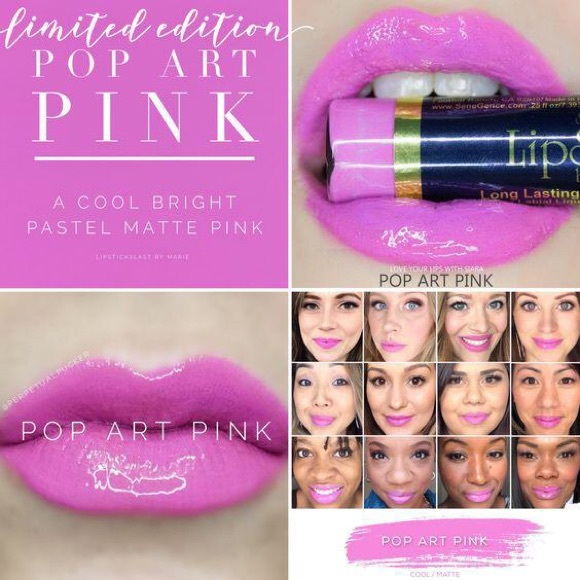 NEW LipSense Pop Art Pink